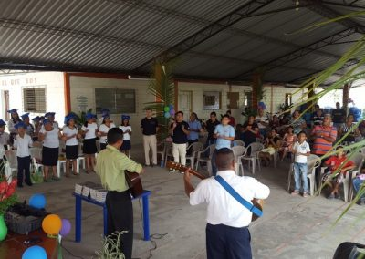 2016-05-09 Discipleship Graduation 1 w Agua Viva El Salvador